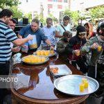 تصاویری دیدنی از جشن نیمه شعبان ۹۸ در خیابانهای تهران