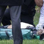 خودسوزی مرد سوار بر اسکوتر مقابل کاخ سفید + تصاویر