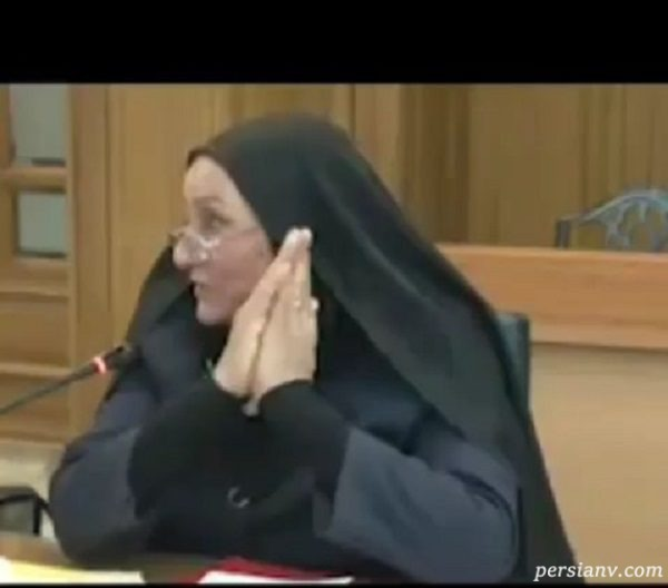 دیدار مادر دو شهید معترض با اسحاق جهانگیری