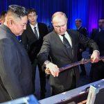 حاشیه های اولین دیدار رسمی پوتین و کیم جونگ اون + تصاویر