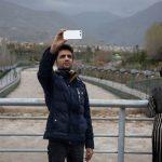 سلفی های تهرانی ها با سیلاب رودخانه کن در تهران!!