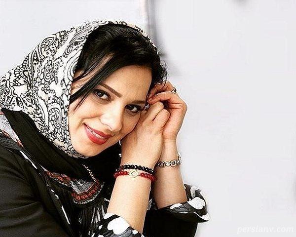 وقتی خانم بازیگر مشهور ایرانی عینکی می شود