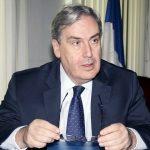 سفیر جدید فرانسه در حال بازدید از مدرسه فرانسوی تهران