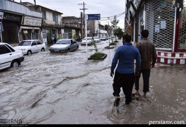 سیلاب در زابل