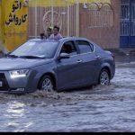 تصاویری از سیلاب در زابل بر اثر شدت بارش ها!!