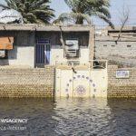تصاویری از خسارات شدید سیل در سوسنگرد به منازل مسکونی!