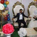 تصاویری از جشن عروسی یک زوج از سیل زدگان اهواز در نیمه شعبان!