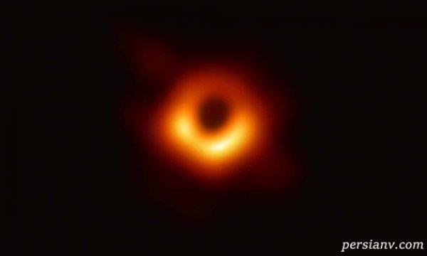 عکس واقعی سیاه چاله