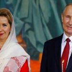 تصاویری از مراسم ویژه عید پاک با حضور پوتین رئیس جمهور روسیه
