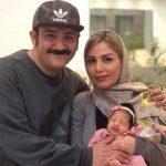 نوروز شاد و متفاوت مهران غفوریان با دخترش هانا