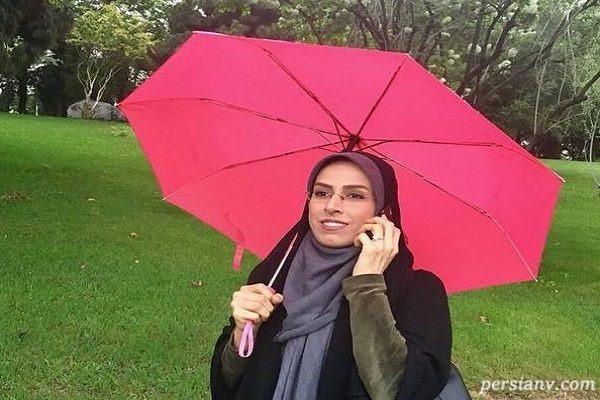 نرگس سادات پناهی گوینده خبر تلویزیون عزادار شد!