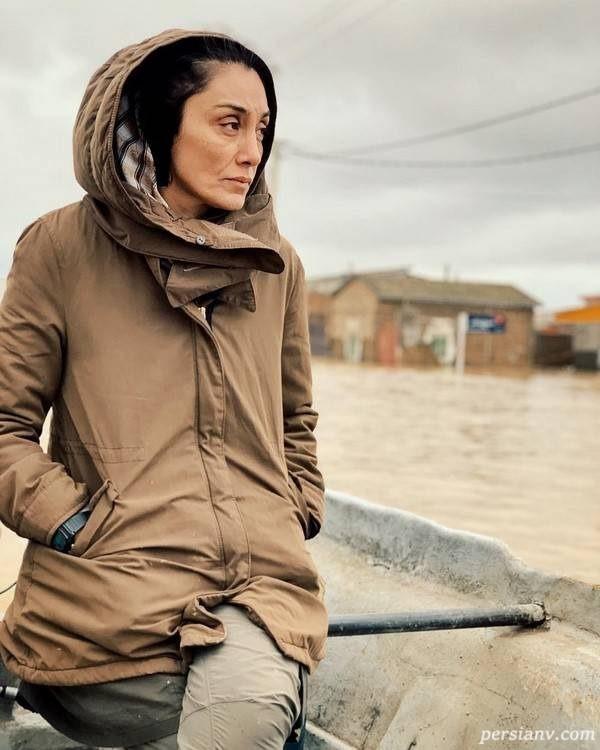 کمک هدیه تهرانی به سیل زدگان