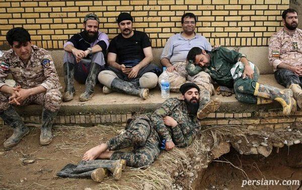 تصاویری از پاسداران سپاه انقلاب اسلامی در حال عملیات تروریستی!