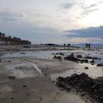 هجوم مردم برای تماشای پر آب شدن دریاچه ارومیه