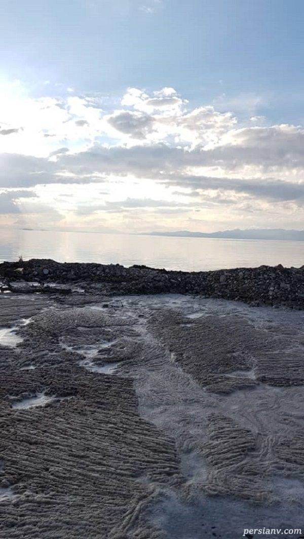 پر آب شدن دریاچه ارومیه