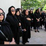 تصاویری از مراسم تشییع پیکر ابراهیم سلطانی فر کارگردان سینما