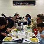 مراسم افطار در حرم امام رضا (ع) در رمضان ۹۸ + تصاویر