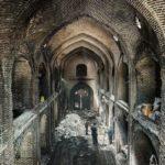 تصاویری از وضعیت بازار تاریخی تبریز ۱۸ روز بعد از آتش سوزی!!