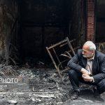 تصاویری تلخ از بازار تبریز بعد از آتش سوزی گسترده!!