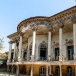 رنگ آمیزی کردن یک بنای تاریخی برای سریال + تصاویر