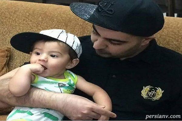 عکس هایی تلخ از بهنام صفوی و پسرش سام را ببینید