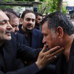 مراسم تشییع پیکر مادر شهیدان طهرانی مقدم با حضور چهره ها + تصاویر