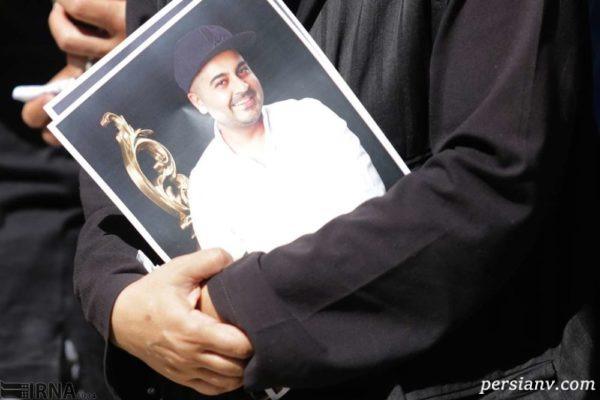 مراسم تشییع پیکر بهنام صفوی در اصفهان + تصاویر