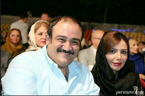 جدیدترین عکس های مهران غفوریان با همسر و دخترش هانا