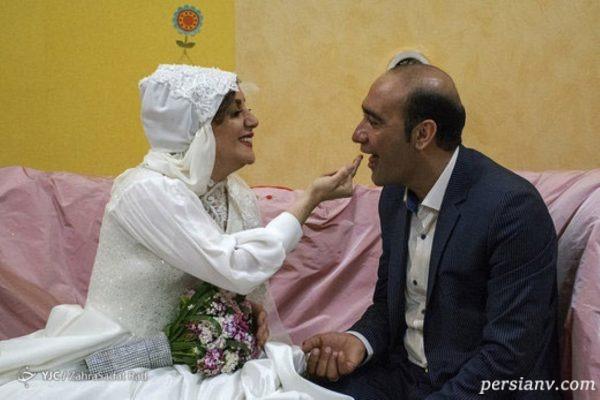 تصاویری از مراسم جشن ازدواج دو کارتن خواب بهبود یافته در تهران!!