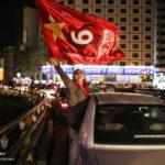 جشن قهرمانی تیم پرسپولیس در خیابانهای تهران + تصاویر