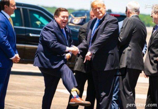 جوراب طرح ترامپ