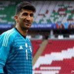 مشخص شدن حکم علیرضا بیرانوند دروازه بان تیم ملی ایران