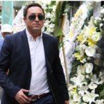 مراسم ختم پدر امیرحسین رستمی با حضور الهام حمیدی و …+ تصاویر