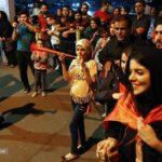 جشن و پایکوبی و شادی هواداران پرسپولیس در تهران + تصاویر