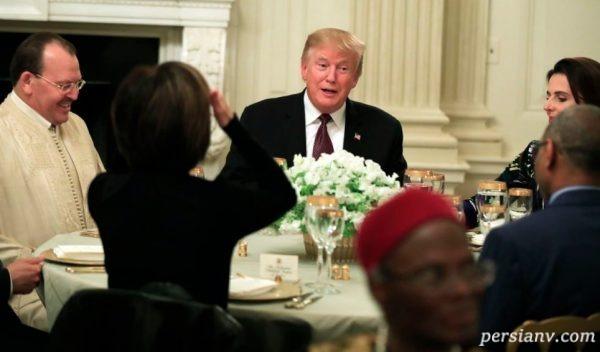 ضیافت افطاری دونالد ترامپ
