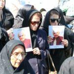 مراسم تشییع پیکر و خاکسپاری عبدالرحمان عمادی + تصاویر
