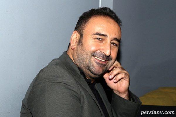 عکسی از مهران احمدی با گریم سنگین و دیده نشده در عروس مردگان!!