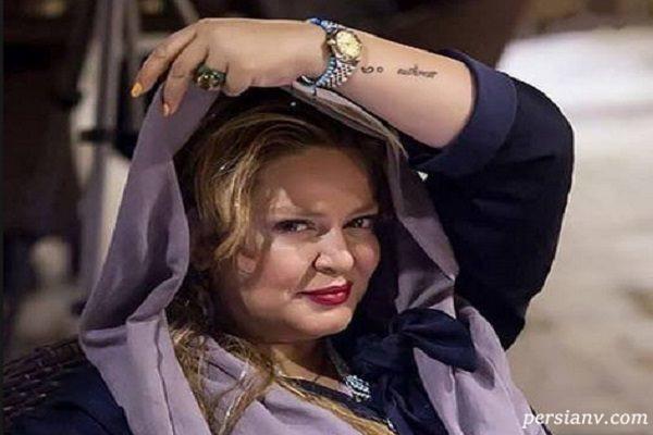 عکس جدید از بهاره رهنما با پوشش و ژست ملکه!!