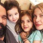 عکس های جدید رضا صادقی و همسرش با دخترانش در شمال!