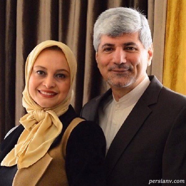 مریم کاویانی و همسرش