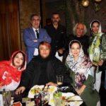 لیلا اوتادی و هنرمندان در ضیافت افطار مهدی ماهانی + تصاویر