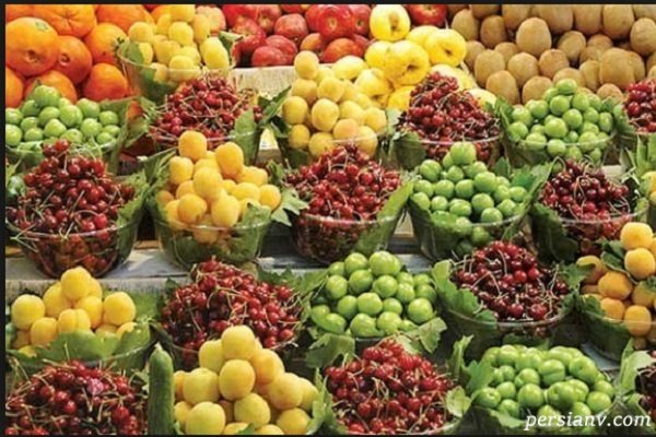 عکس میوه های فصل تابستان