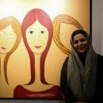 نقاشیهای تهمینه میلانی بازهم جنجال آفرید!! +واکنش کاربران