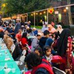 مراسم افطاری نیروهای پلیس آمریکا در ماه رمضان! + تصاویر