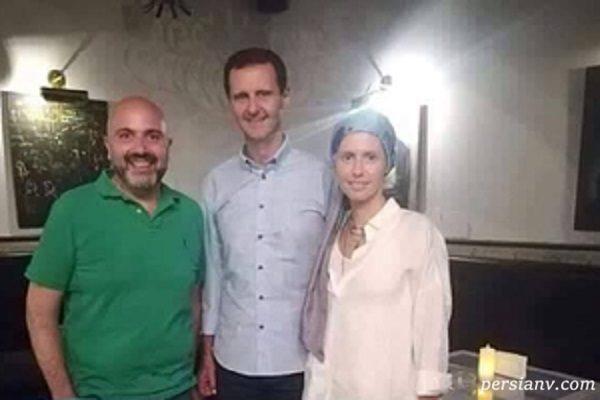 وضعیت همسر بشار اسد