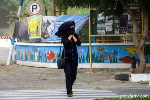 وضعیت هوای تهران