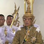 برگزاری مراسم تاج گذاری پادشاه جدید تایلند + تصاویر