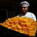 در کارگاه پخت زولبیا و بامیه چه می گذرد؟! + تصاویر