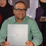 رونمایی و جشن امضای کتاب رامبد جوان در نمایشگاه کتاب تهران + تصاویر