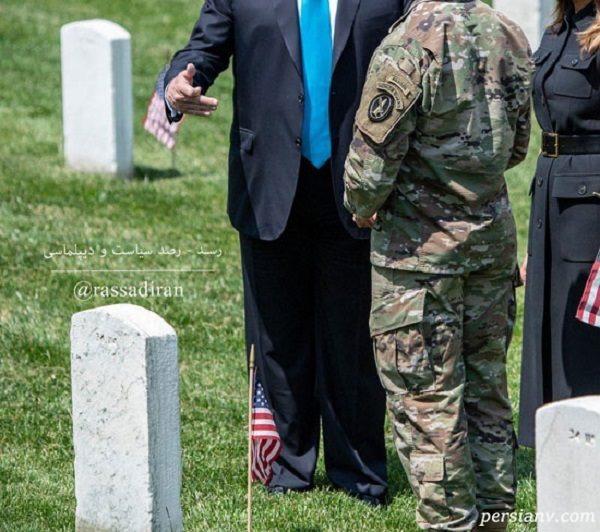 کت و شلوار دونالد ترامپ